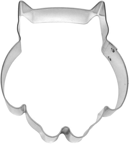 Chubby Owl 4.25/'/' Cookie Cutter New!