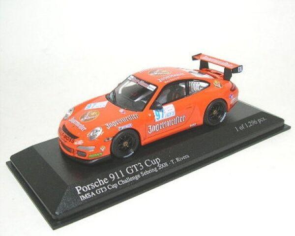 Porsche 911 GT3 GT3 GT3 (Jägermeister) No. 97 CT3 Cup Sebring 2008  | Up-to-date Styling  1c985a