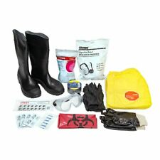 Personal Protective Hazmat Kit With Boots Suit Amp More