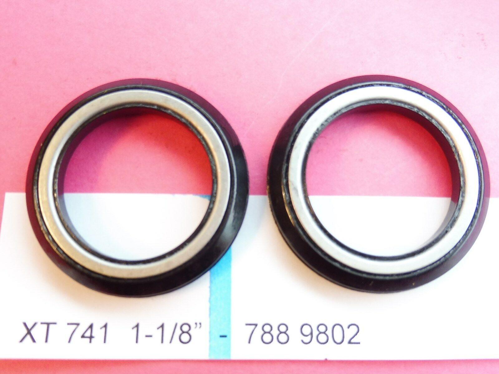 Shimano XT 741  Replacement Ball Bearing Set 788 9802 (Headset) - Numbers MTB Retro  fitness retailer
