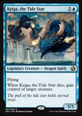 Inexorable Tide Foil Light Played MTG Scars of Mirrodin Magic 2B3