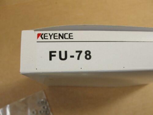 New Keyence FU-78 Fiber Optic Cables Through Beam
