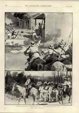 1897 nativo di donne e bambini NIGER DISTRETTO Benin MASSACRO