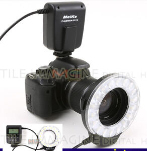 ILLUMINATORE-FLASH-LED-ANULARE-MEIKE-FC110-FC-110-MACRO-RING-FLASH-CANON-NIKON