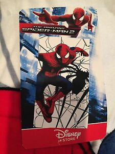 Disney Store Spiderman Towel (30in x 60in)