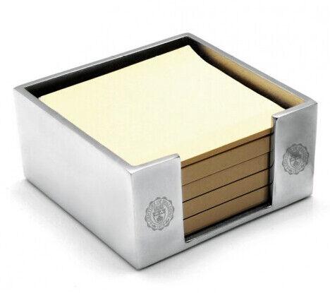 Porta carte Spalding & Bros A.G. oggetto scrivania alluminio12x12x6 cm 862851