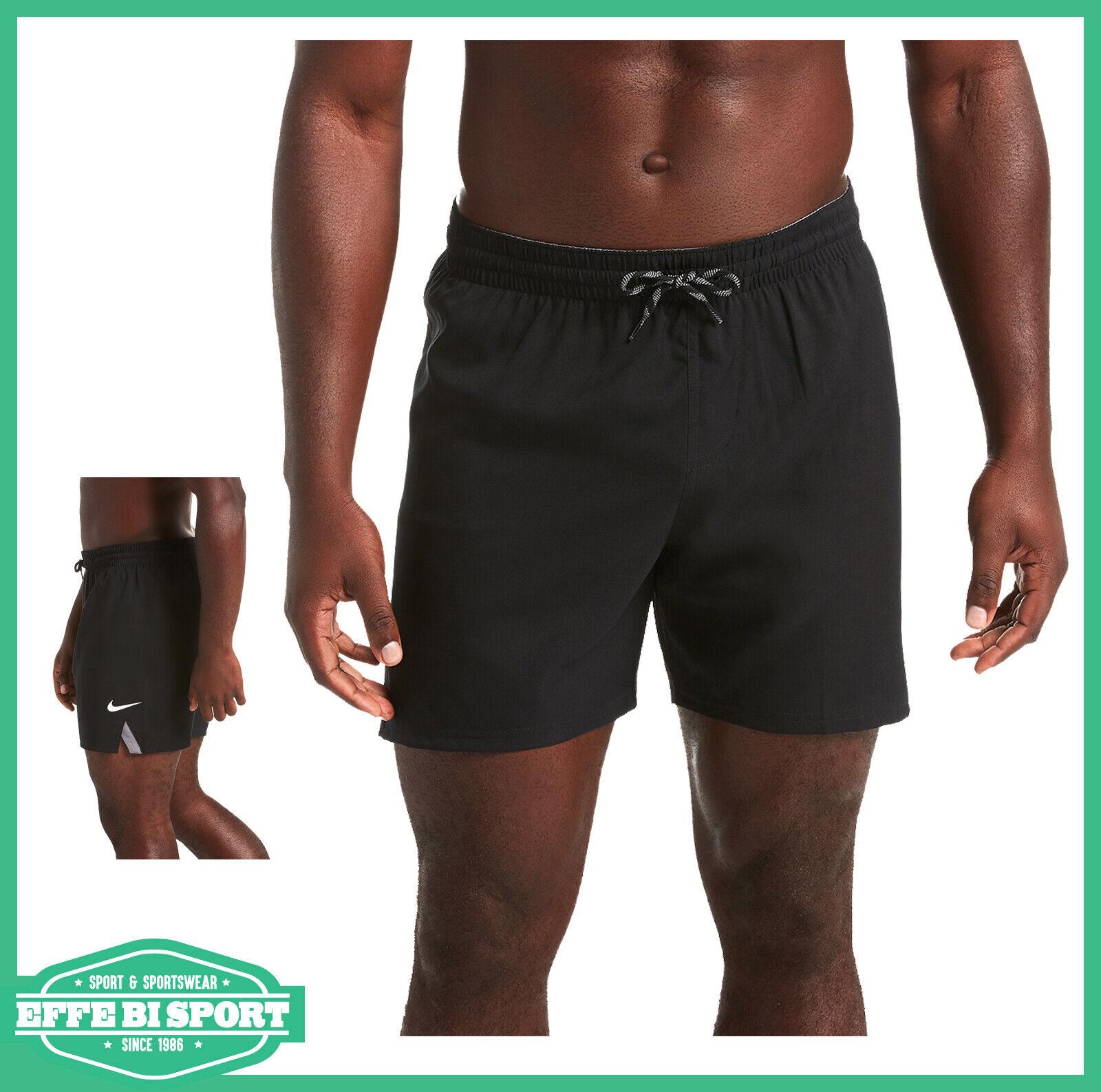 Dettagli su Boxer mare piscina uomo Nike costume bagno pantalone mare tempo libero casual