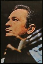 JOHNNY CASH personality poster 1971 25x38 ROLLED NEAR MINT VERY RARE