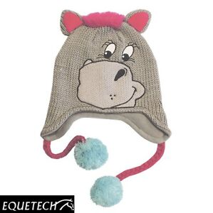 Equetech-Poneez-Beanie-Hat-Childrens-Hat-Woolly-Hat-Kids-Beanie-XMAS