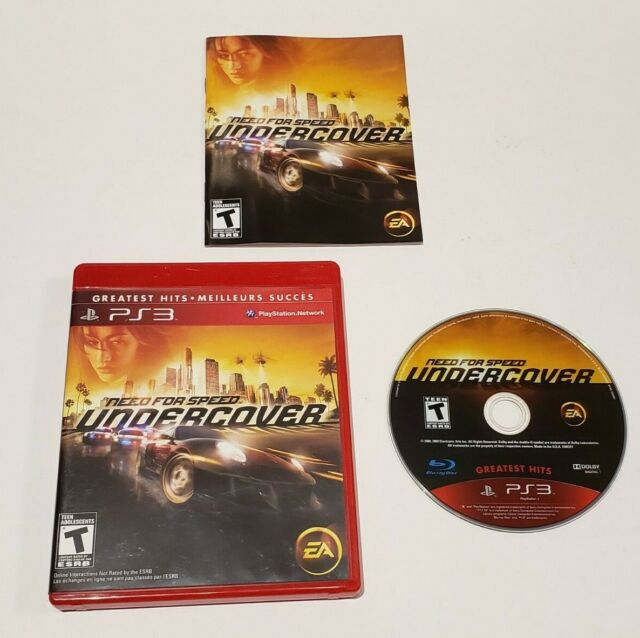Need for Speed Undercover Sony Playstation 3 PS3 - Complete (Greatest Hits) 2008