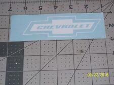 "Chevrolet 5"" Vinyl Decal sticker laptop windows wall car boat"