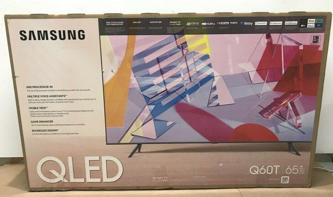 Samsung Q60T 65 Class HDR 4K UHD Smart QLED TV (QN65Q60TAFXZA) ✅❤️️. Available Now for 699.99