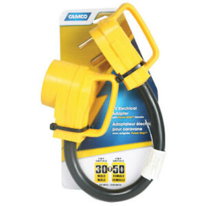 Camco 55183 18 RV Power Grip And Electric Adapter