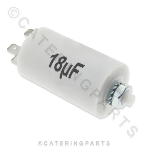 CA18 18mF 18 MF UNIVERSAL PUMP MOTOR START CAPACITOR DISHWASHER GLASSWASHER