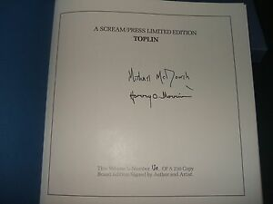 Signed-Limited-of-Toplin-by-Michael-McDowell-Published-by-Scream-Press-Fine