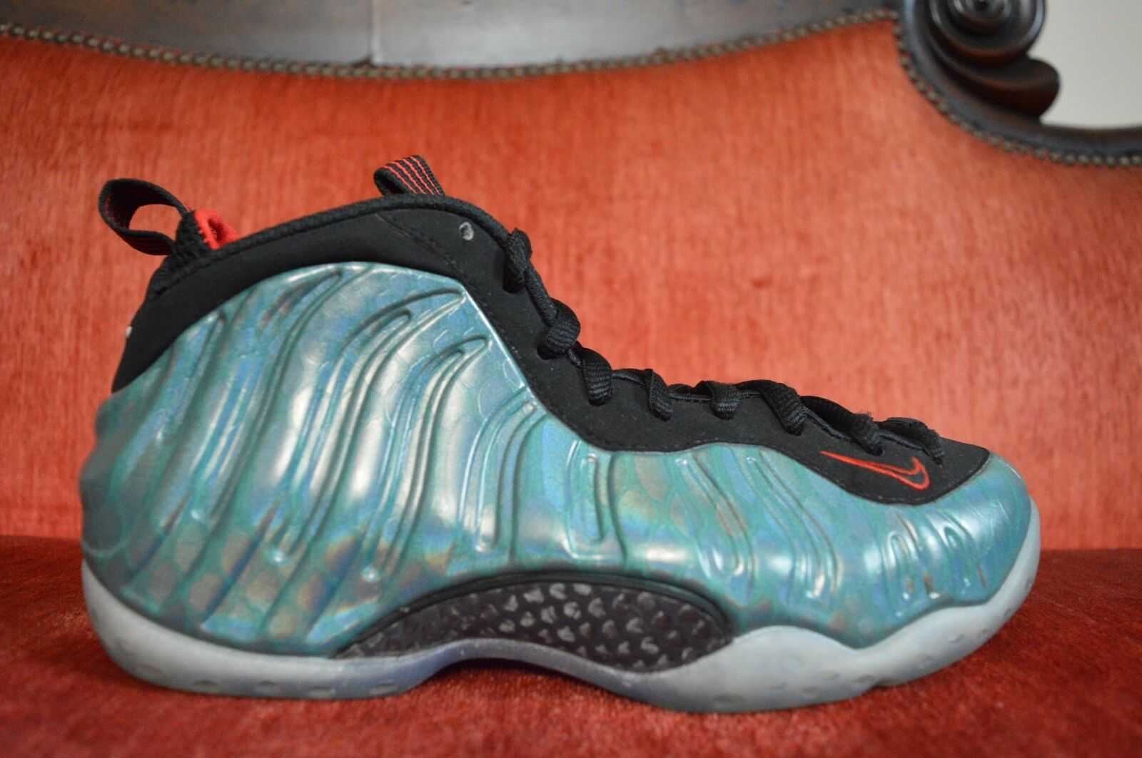 Nike Air Foamposite One Premium PRM Gone Fishing Size 7.5 575420-300