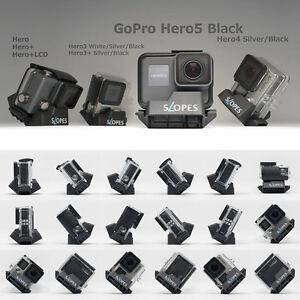 Telesin Laderas De ángulo 18 Mano Instantáneo Trípode Soporte Para Gopro Hero 5 Ebay