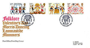 6-FEBRUARY-1981-FOLKLORE-POST-OFFICE-FIRST-DAY-COVER-LONDON-WC-SHS-P