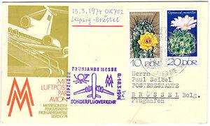 Messesonderflugbeleg-Leipzig-Bruessel-OK-752-13-3-1974