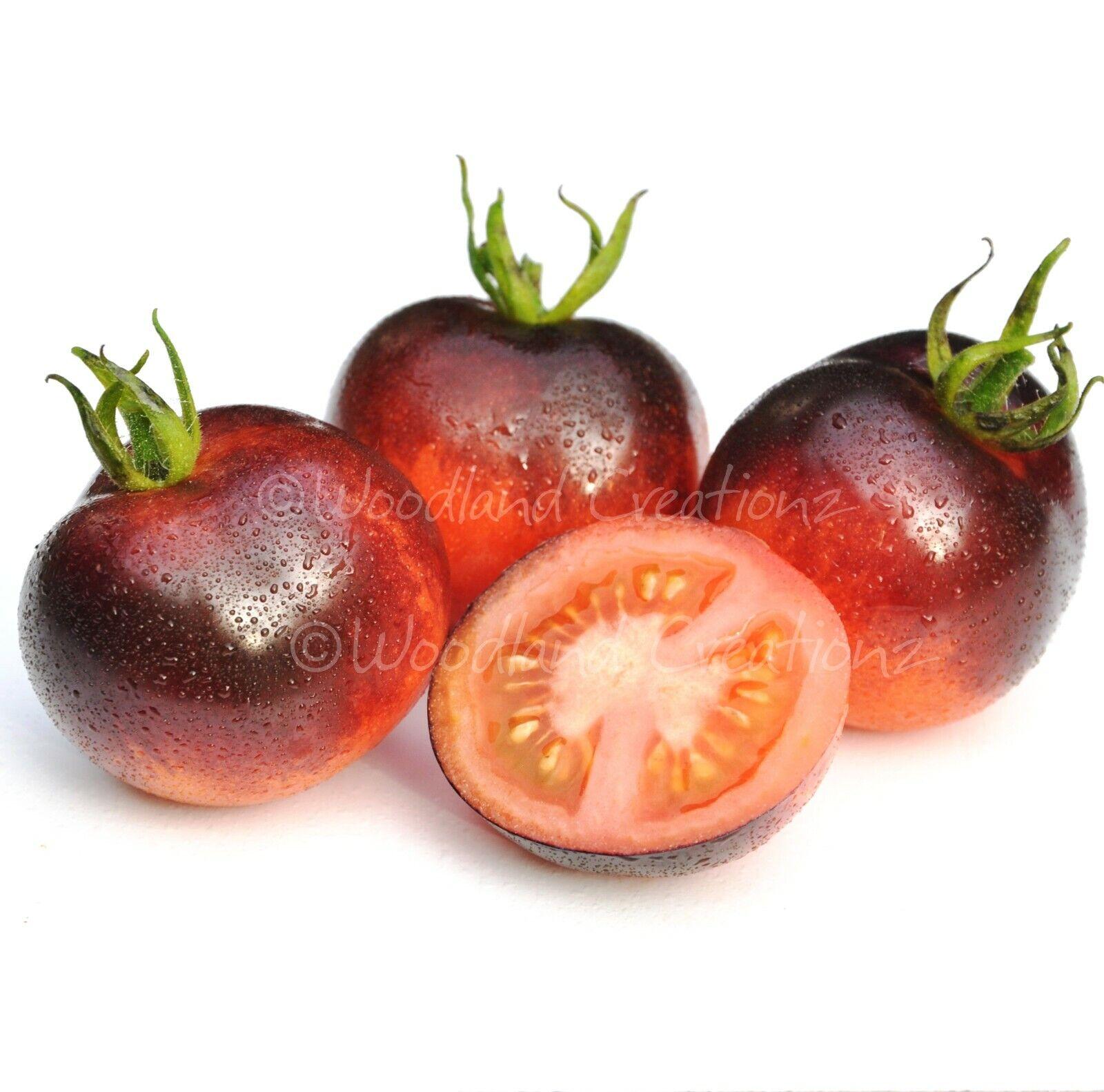 Organically Grown Ukrainian Heirloom Vegetable NON GMO Purple Tomato Seeds