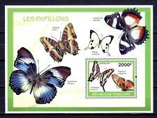 Togo 2010 papillons bloc n° 368 neuf ** 1er choix