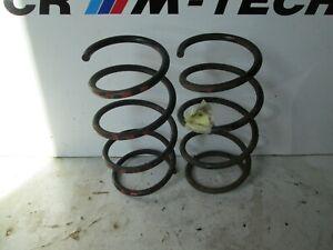 BMW-E36-M3-3-2-Evo-Saloon-Frontal-De-Bobina-Resortes-manchas-rojas-x2-par-de-fabrica