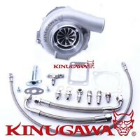 Kinugawa Ball Bearing Turbocharger 4 Anti Surge Gtx3076r W/ .89 T3 V-band 4bolt