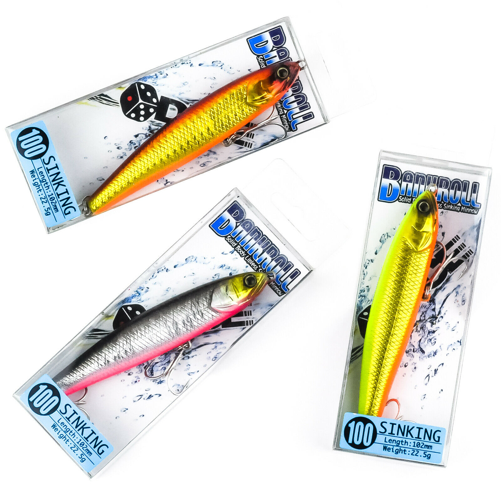 Pencil Sinking Fishing Lure Weights 10-24g Bass Fishing Tackle Fishing Accessory