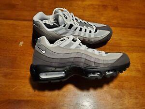 Nike Air Max 95 OG Blanco Gris Degradado Hombres Zapatos