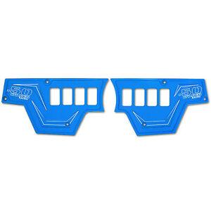Polaris RZR XP 1000 2016 Warranty 2 Piece Blue Waterproof 8 Switch Dash Panel