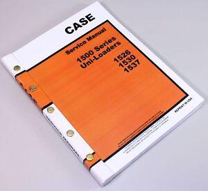 case 1500 series 1526 1530 1537 uni loader skid steer service repair rh ebay com Case 1830 Uni-Loader Case 1530 Skid Loader Diesel