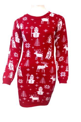 Da Uomo Donna Unisex Christmas Jumper Da Donna Novità Natale Maglione Lavorato A Maglia Stile Retrò
