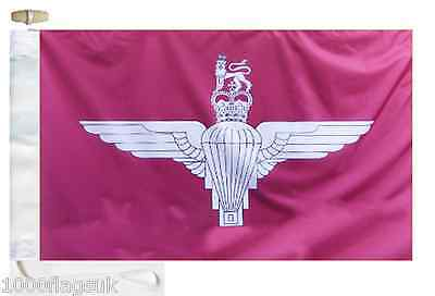 Toggled Regiment Boat 'The Roped Parachute British Flag Paras' Army amp; Courtesy qwEnOv1