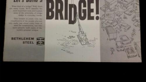 1964 Newport Bridge Rhode Island Bethlehem Steel vintage Catalog