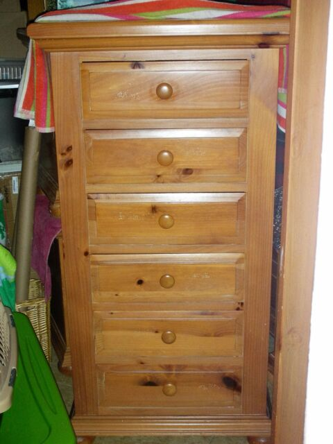 Broyhill Fontana Retired 6 Drawers Dresser Pine Good Condition Pick Up