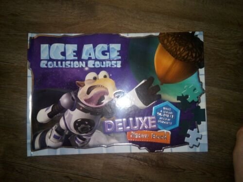 Puzzles Ice Age Collision Course Deluxe Jigsaw HC Book//w 4 96pc