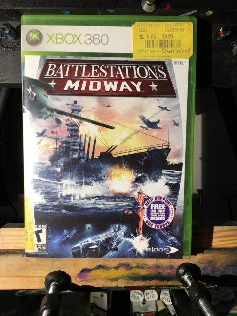 Battlestations: Midway (Microsoft Xbox 360, 2007) Complete