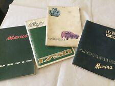 British Leyland Maxi. Allegro.Wolseley.Marina. Handbooks Over 40 yrs old