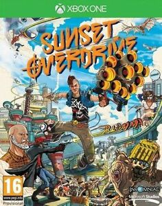 SUNSET-Overdrive-Xbox-One-eccellente-UK-STOCK-Menta-1st-Class-consegna
