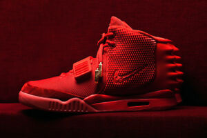 aee1a3454ab56 Image is loading DEADSTOCK-NIKE-AIR-YEEZY-2-RED-OCTOBER-KANYE-