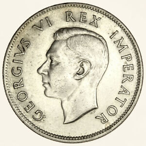 1941-South-Africa-2-1-2-Shillings-George-V-British-Colonial-Silver-Halfcrown