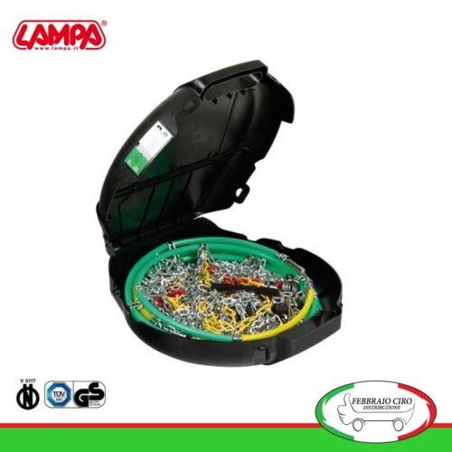 Catene da neve 215//65r17 215 65 17 da 9mm Lampa R9 Omologate Gruppo 13-16079