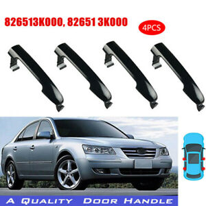 Outside Exterior Door Handle Set for HYUNDAI SONATA 2005-2010 4 PCS