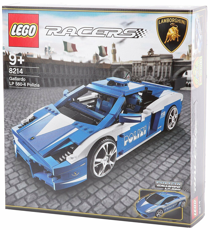 Lego 8214 Lamborghini Gallardo Polizia  Italien Polizei LP 560-4