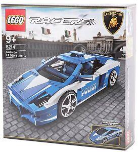 Lego 8214 Lamborghini Gallardo Polizia Italie Italie Police Lp 560-4