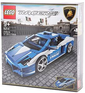 Lego 8214 Lamborghini Gallardo Polizia Italy Italien Polizei LP 560-4