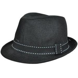 Polyester Fedora Stetson Mesh Hat Ribbon Trilby Band Small Medium FD ... 4e0f6037d2e2