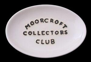 Rare-Moorcroft-Pottery-Collectors-Club-Display-Sign-Tray