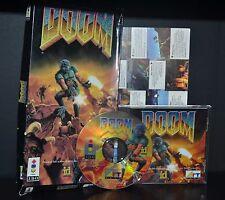 DOOM (Panasonic 3DO) Complete CIB Video Game RARE w/Long Box FREE SHIPPING