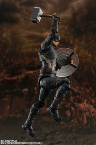 Avengers // End Game Bandai S.H.Figuarts Captain America FINAL BATTLE EDITION